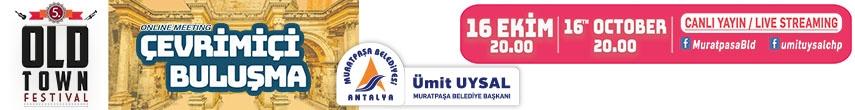 Muratpaşa belediyesi online kutlama