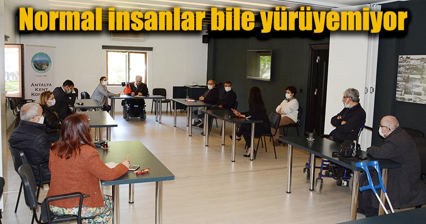 'Antalya engelsiz hale getirilmeli'