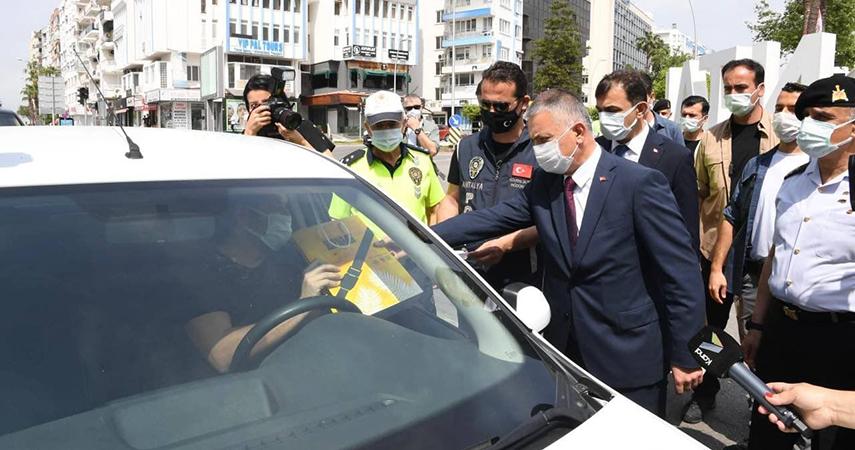 Vali Ersin Yazıcı karayolu Trafik Haftası Etkinliği'ne katıldı.