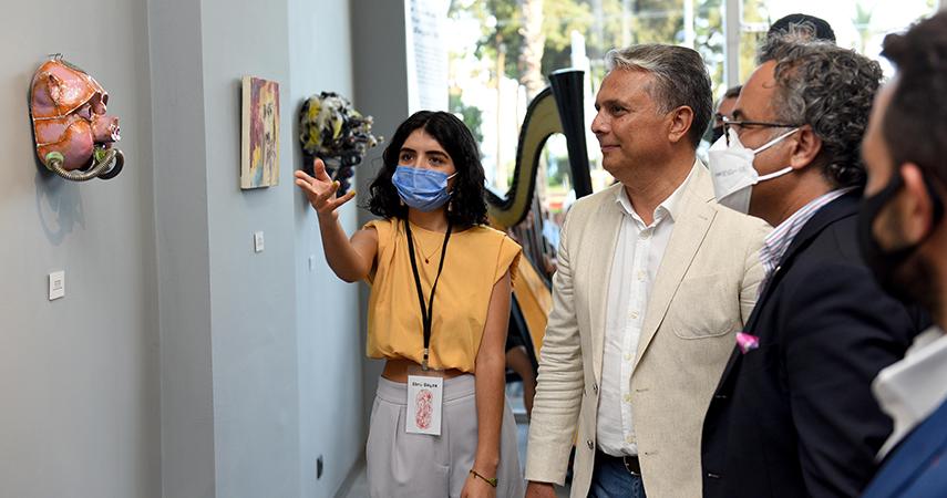 """YÖRSİAD'ın """"Maskeler Sergisi"""" Açıldı"""