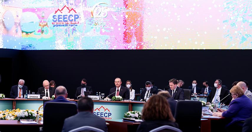 Güney Doğu Avrupa İşbirliği Süreci Zirvesi Dışişleri Bakanları Toplantısı
