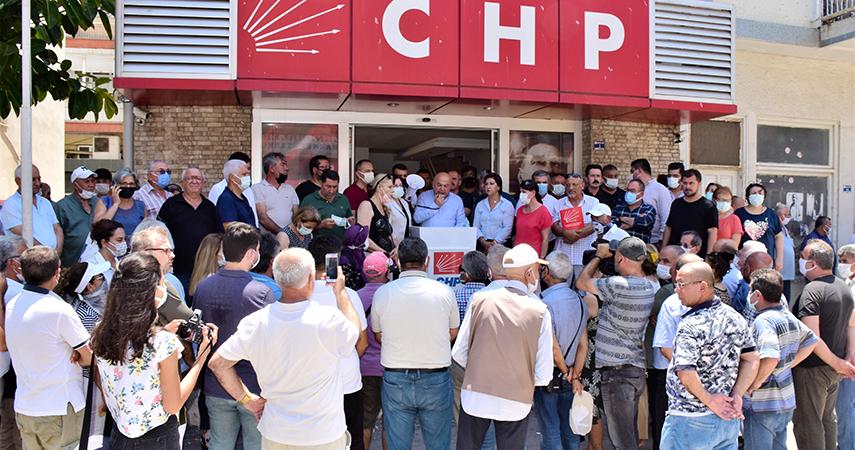 """CHP İl Başkanı Cengiz; """"Ekonomik Kriz Buhrana Dönüştü"""""""