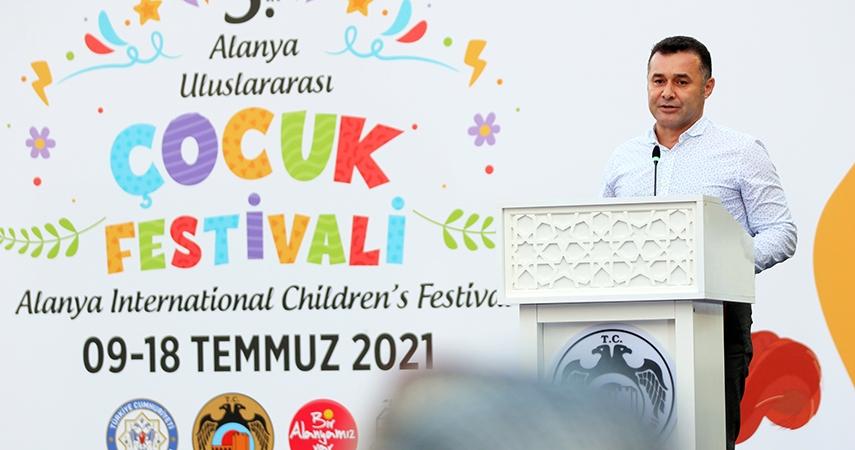3. Alanya Uluslararası Çocuk Festivali Başladı