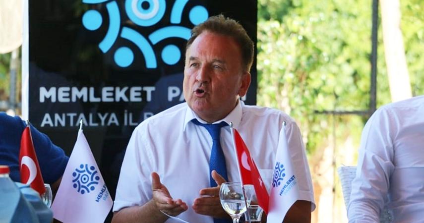 Baraner; ''Antalya'ya yazık ettiler''