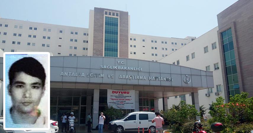 Astsubay hastane tuvaletinde hayatına son verdi