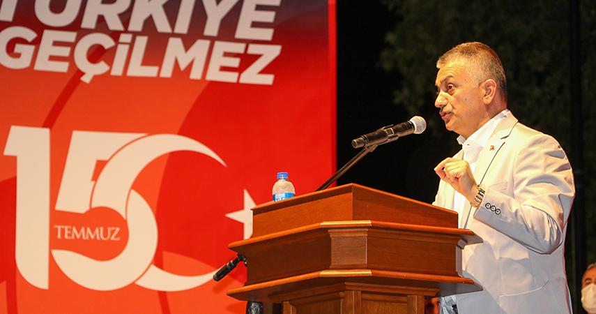 15 Temmuz Şehitleri Anma, Demokrasi ve Milli Birlik Günü kutlandı