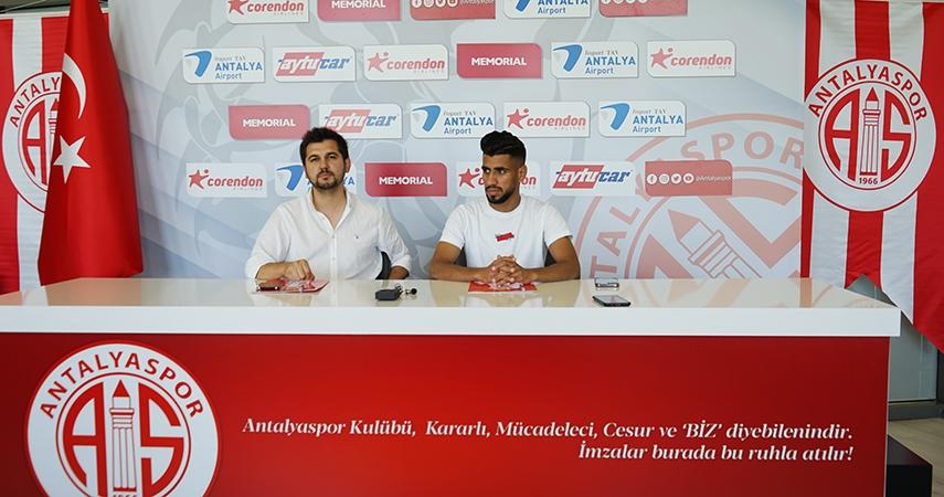 Cezayirli Houssam Eddine Ghacha FTA Antalyaspor'da