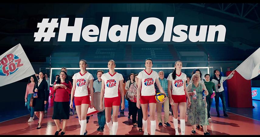 Antalyalı Porçöz'den Türkiye A Milli Voleybol Takımları'na tam destek