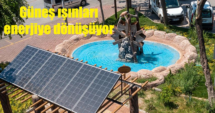 Muratpaşa'nın Parkları enerji üretiyor