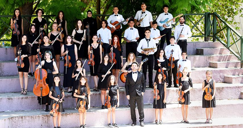 Genç müzisyenler 30 Ağustos Zafer Bayramı konserine hazır