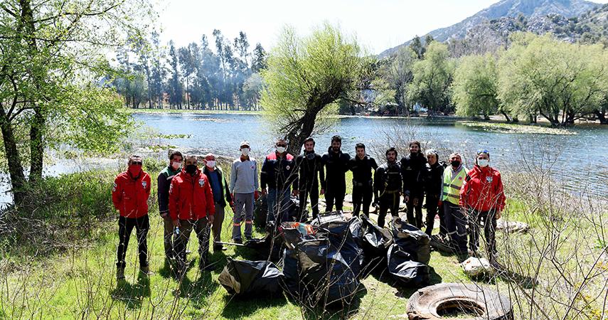 Antalya'nın içme suyu kaynağında büyük temizlik