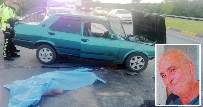 Trafik ışıklarındabekleyen otomobile arkadan çarptı: 1 ölü