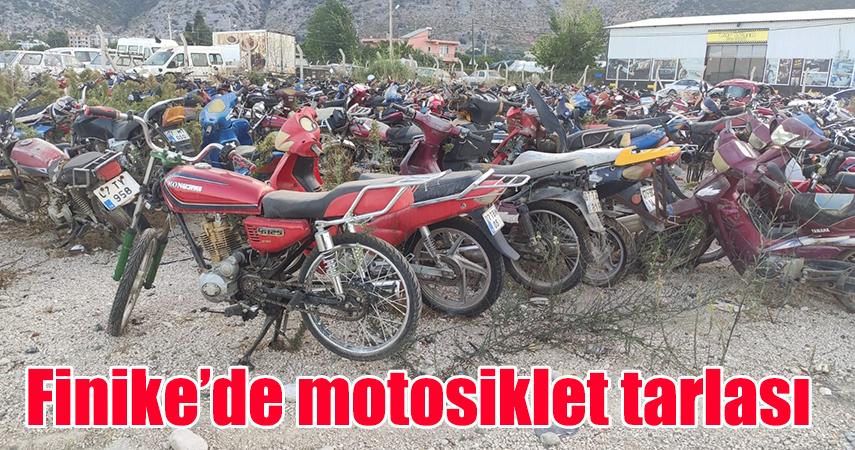 Finike'de motosiklet denetimi yoğunlaştı