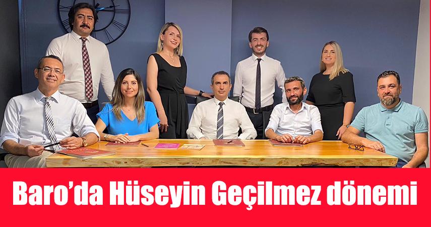 Antalya Barosu'nun yeni başkanı Geçilmez