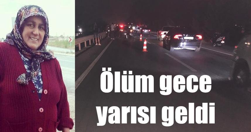 Manavgat'ta zincirleme kaza: 1 ölü, 3 yaralı