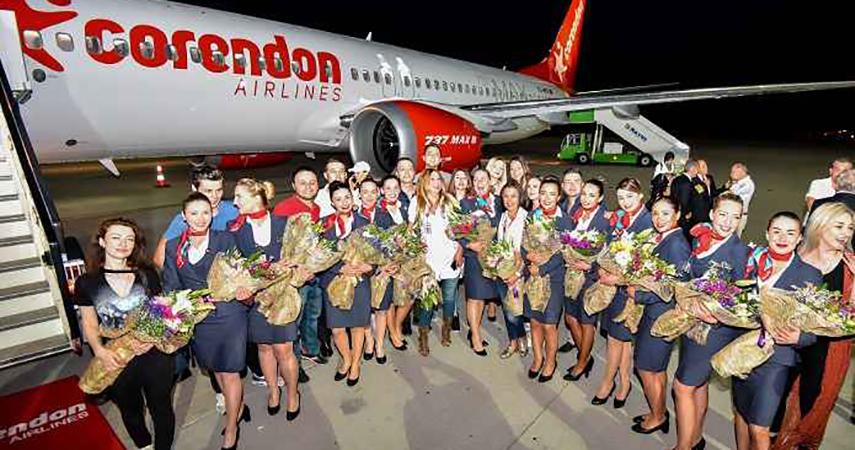 Corendon Airlines'den kış sezonunda 1 Euro+vergilerle uçak bileti