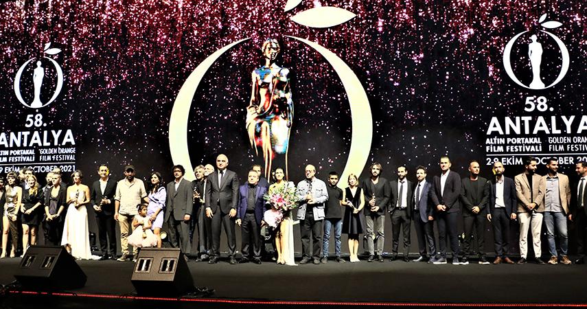 58. Antalya Altın Portakal Film Festivali'nde ödüller sahiplerini buldu