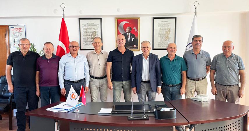 Organize Sanayi ile Akdeniz Sanayi Sitesi el ele